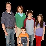 Series de televisión: la familia, inmortal protagonista